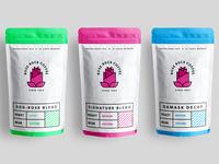 Coffee Logo & Packaging Design