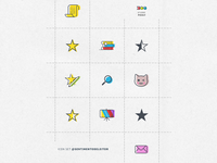Icon Set for Sentimento de Leitor