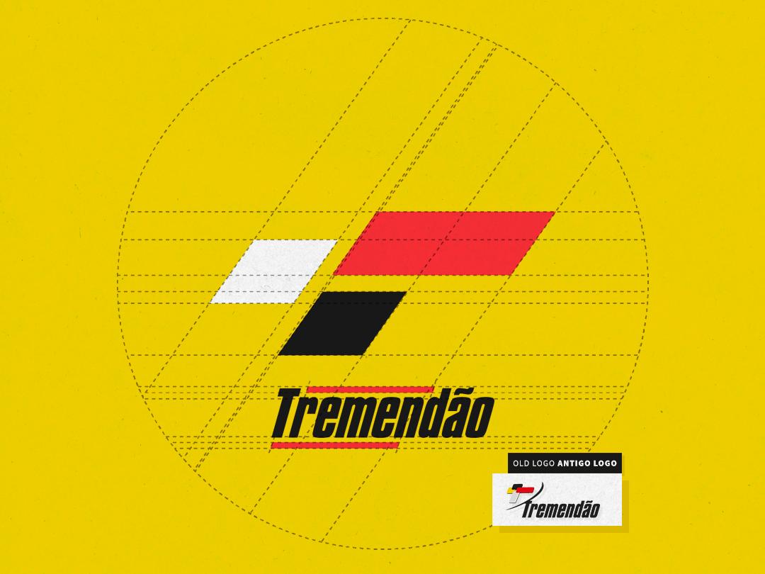 Tremendao Esportes, Logo user experience brand icon branding vector illustration logo design