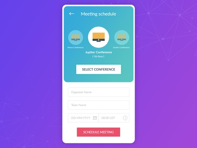 Meeting Scheduler App