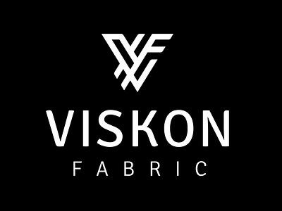 Viskon Fabric Logo Tasarımı logo tasarım icon idenity typography editorial vector logo grafik tasarım design branding brand