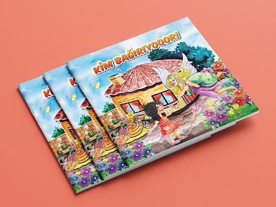 Storybook / Hikaye Kitabı kapak colored photoshop hikaye kitabı grafik tasarım illustration idenity cover editorial branding brand design book storybook
