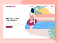 Summer Landing Page