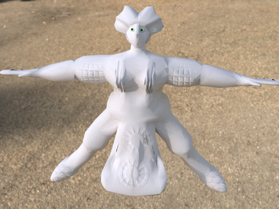 Low-poly Character