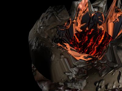volcano 3d product design