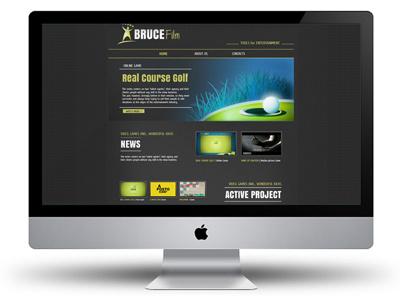 Bruce Entertainment website website web site web design game design