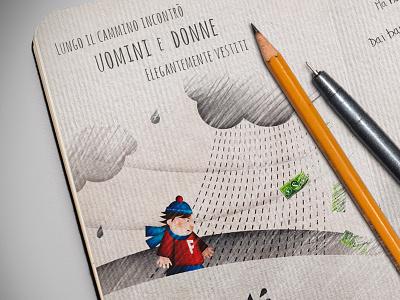 Io Ci Sono book illustrations
