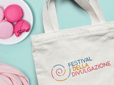 Festival della Divulgazione branding design festival logo design logo