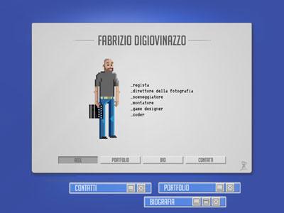 WebSite for a game designer website game designer gamer designer reel