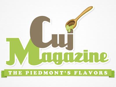 Logo Cuj logo magazine cookery
