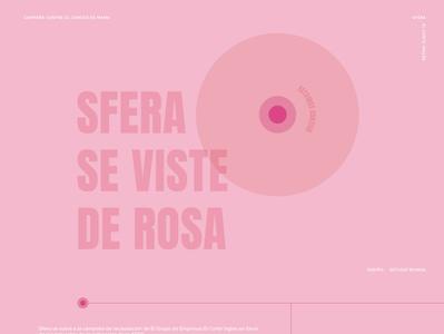 Sfera se viste de Rosa