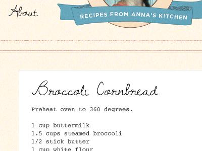 Recipe Catalog recipes courier cornbread