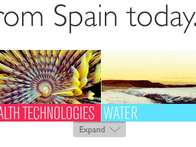 Project in the works... Spain! spain gill sans gallery navigation