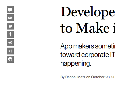 MIT Technology Review - Story page hed dek typography sharing byline