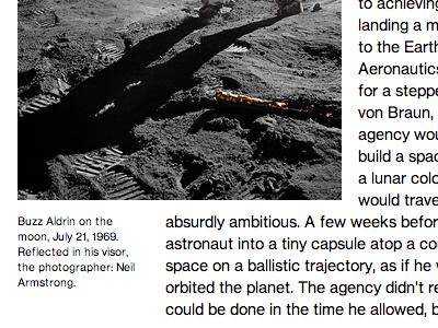 MIT Technology Review - Captions caption grid typography