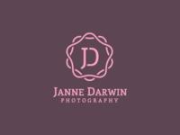 Jane Darwin - wedding photographer monogram
