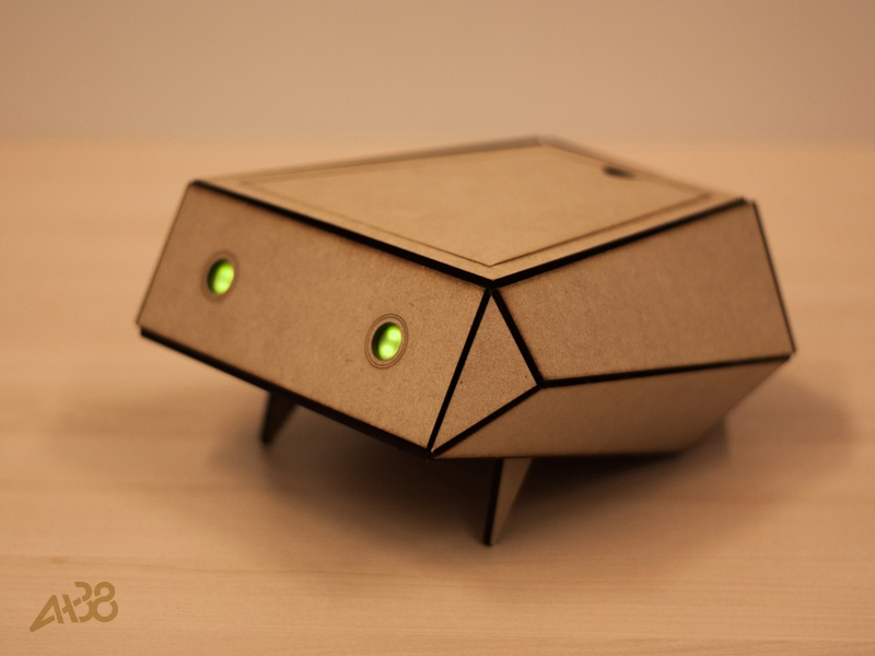 Polygon prototype interaction design wood craft lasercutting arduino raspberry pi healthcare robot
