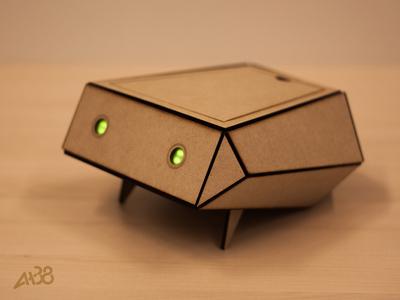 Polygon prototype interaction design wood craft lasercutting arduino raspberry pi healthcare robot