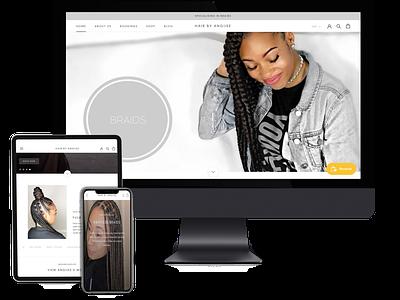 Studio Work copywriting typography website design website webdesign