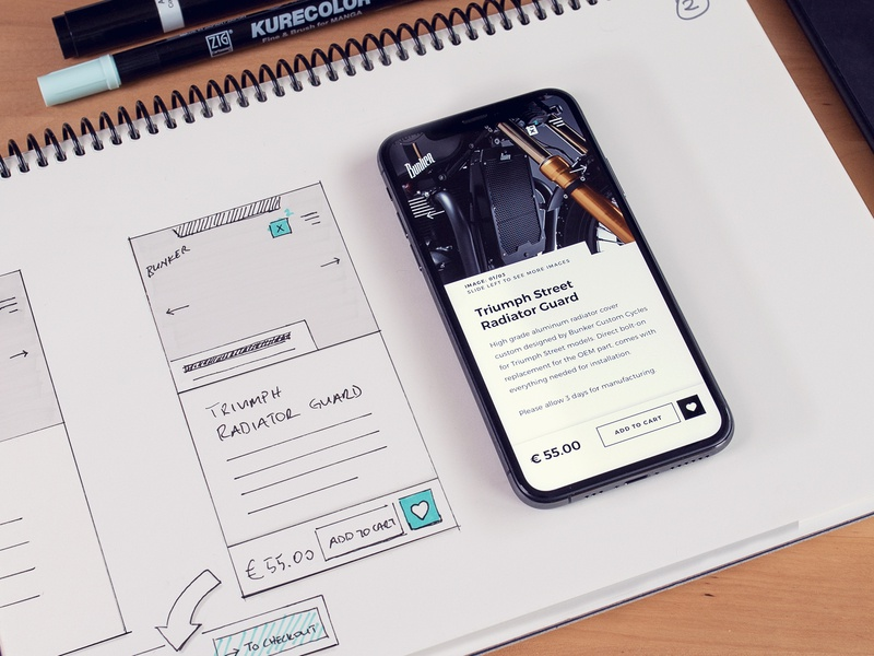 Wireframe to Design #02