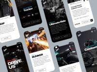 Bunker Custom Cycles mobile website (2)