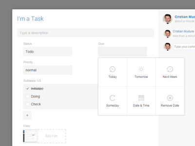 Stackfields task management