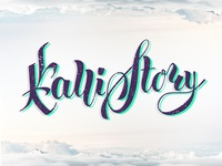 Callistory lettering and calligraphy