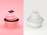 Vibe Cupcake 3d