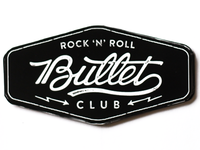 Lettering and logo design for Bullet Club.