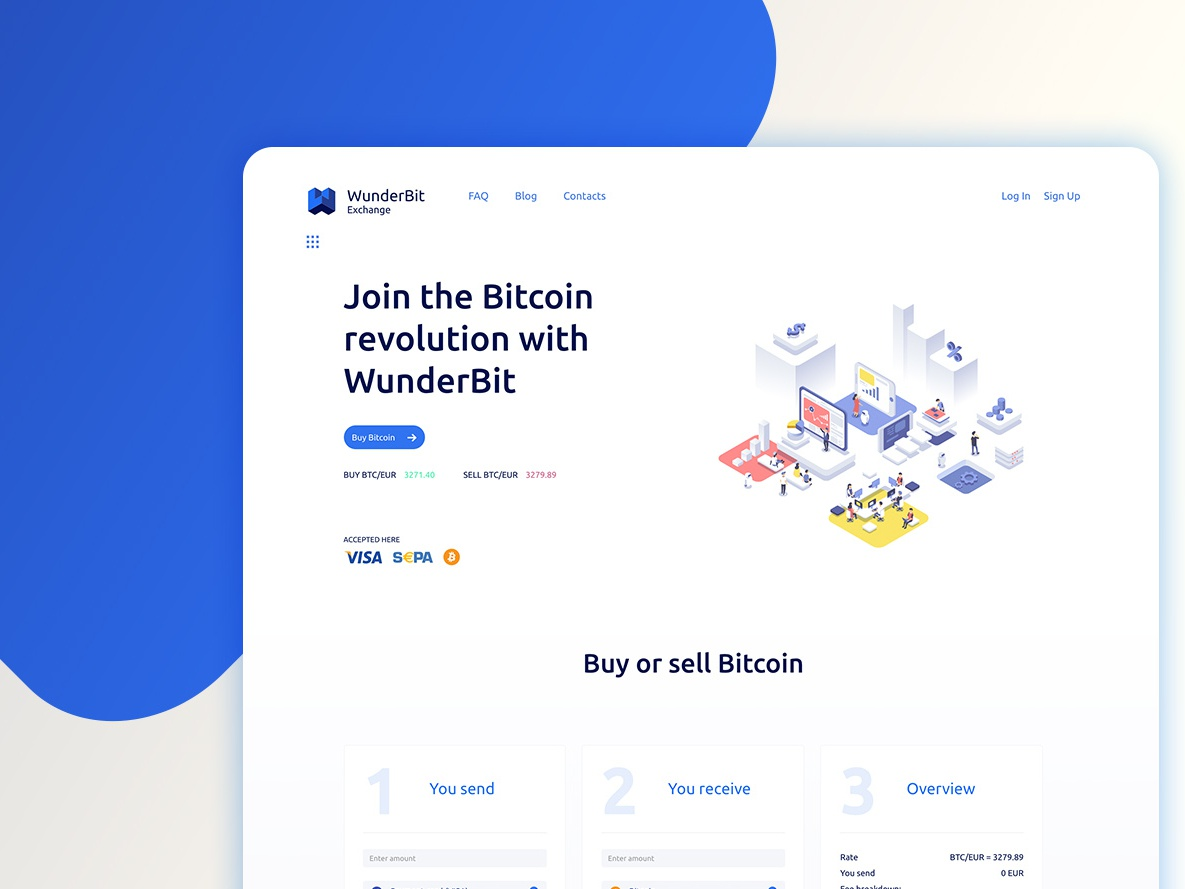 trade bitcoin instantly