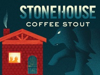 Stonehouse Coffee Stout Illustration