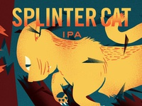 Splinter Cat Illustration