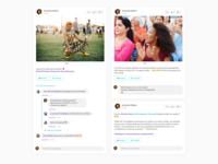 Social Media Event Components