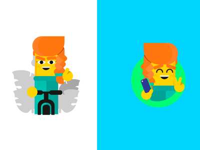 Character Design Datagran analytics marketing bright data illustration artificial intelligence characterdesign geometric branding mascot character design character big data