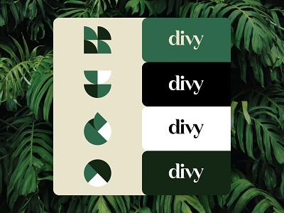 divy - exploration youthful hipster identity identity design brand identity colors branding divy