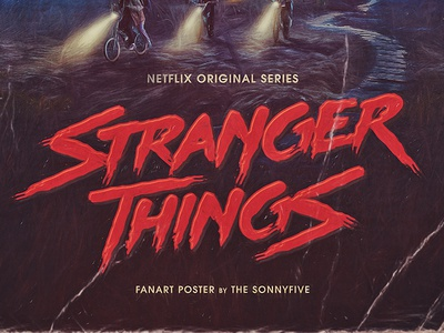 Stranger Things logo & poster
