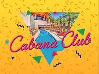 Cabana Club logo - Las Vegas