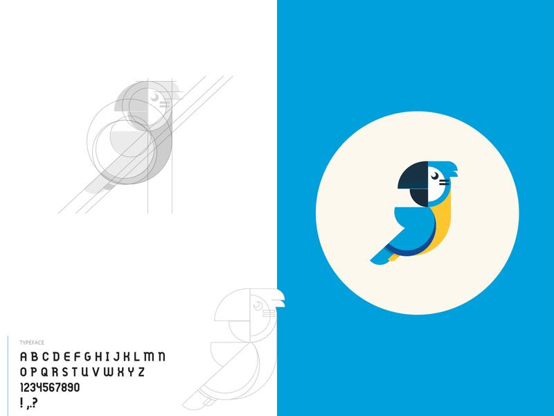 Guwoo Logo blockchain platform guwoo branding logo