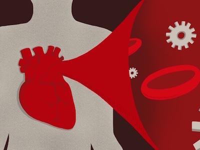 Mechanobiology Hometop biology mechanics mechanobiology heart health procreate illustration editorial illustration