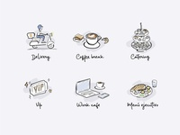 illustration - Meet & Eat