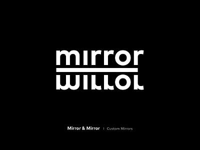 Mirror & Mirror - Redesign - Branding - Identity marks mark logo design logotype logo graphic design creative agency branding identity design branding identity branding design branding brand