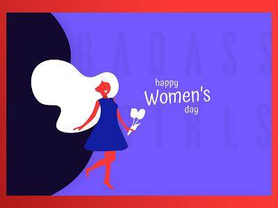 2020 Women's day graphic 2020 womens day womens day illustrator affinity designer ipad pro social media illustration vector minimal graphic design 2020 design