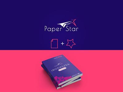 Paper Star company logo design branding logo design branding catalogue design catalogue flat logodesign logo design logo