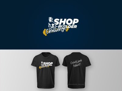 ShopBuilder Challenge logo design logodesign flat 2020 design shopbuildechallange logo design shopbuilder.hu biotech biotechusa shopbuilder