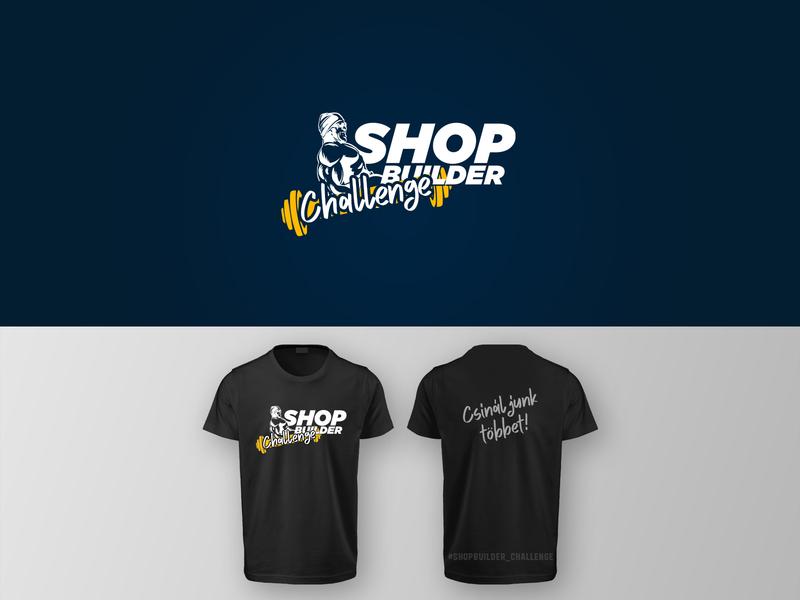 ShopBuilder Challenge logo design