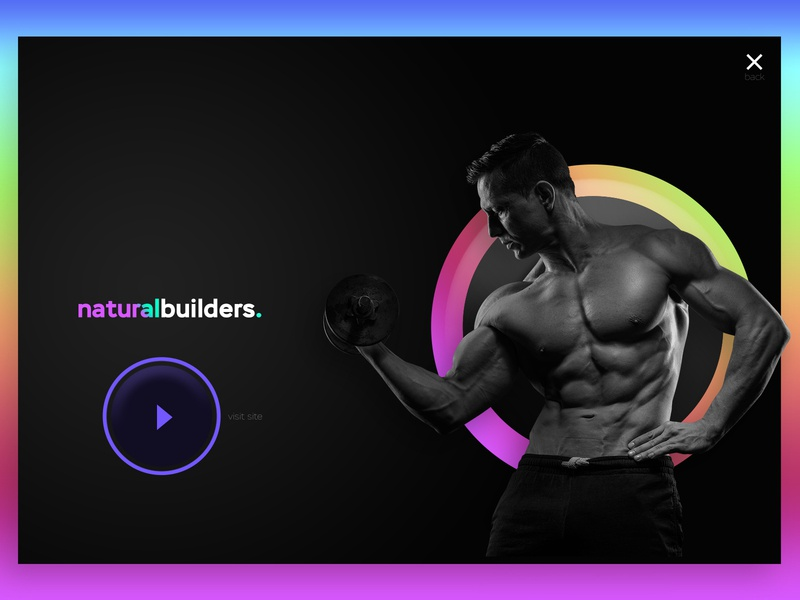 Natural builders landing page