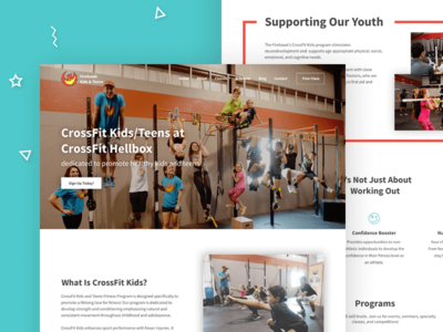 Firehawks Kids & Teens CrossFit - Home Page