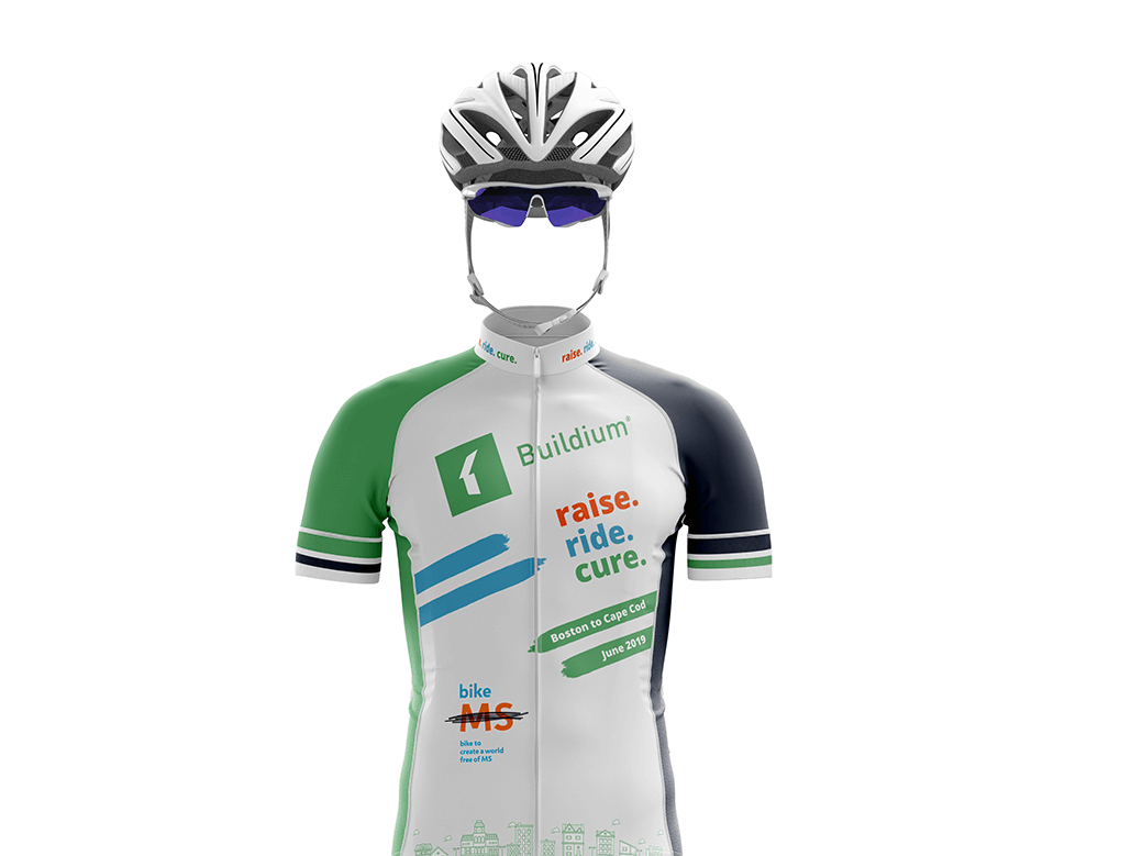 Buildium ms ride jersey