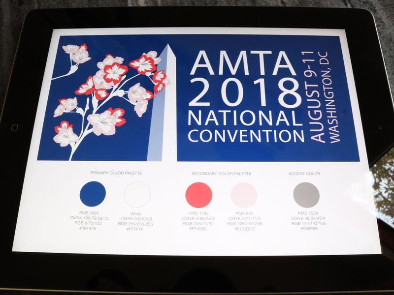 AMTA Branding nonprofit illustraion event branding branding design branding