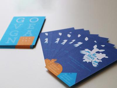 MooShoes logo + cards
